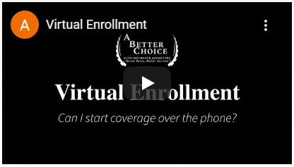 Video - Enroll in auto insurance