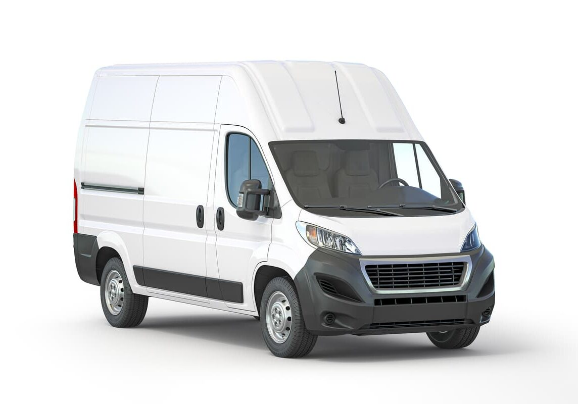 Commercial delivery van for commercial insurance